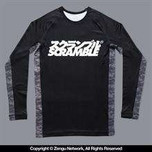 "Scramble ""Kuro"" Camo Rash Guard"